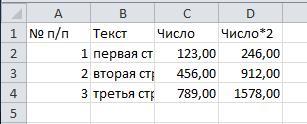 Вставка значений с сохранением форматов чисел
