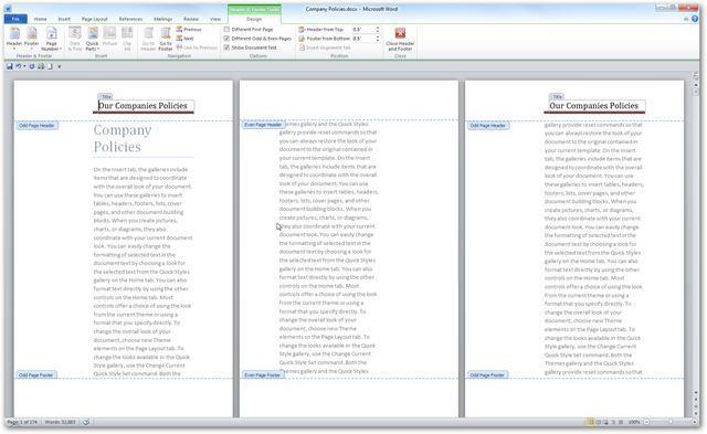 Создание и печать брошюры в Word