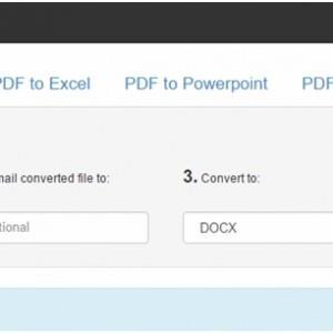 вкладка «PDF to Word»