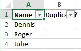 Сравнить столбцы и удалить дубликаты в Excel