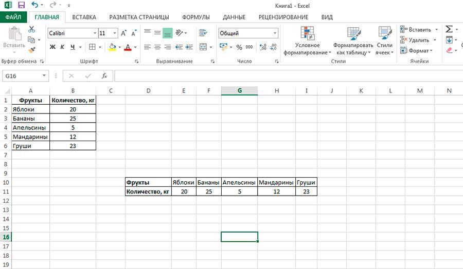 Сделать таблицу Excel горизонтальной из вертикальной? Легко.