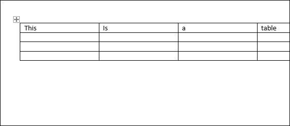 Таблицы в Word. Объединить, разделить ячейки, разделить таблицу Word