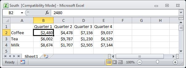 Внешняя ссылка в Excel