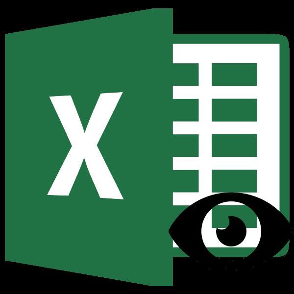 Отображение скрытых столбцов в Microsoft Excel