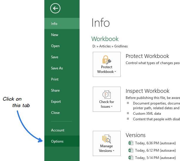 Печать линий сетки в Excel
