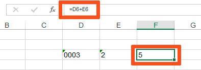 """Прибавляю две """"текстовых"""" ячейки друг к другу, в итоге получаю нормально работающую формулу"""