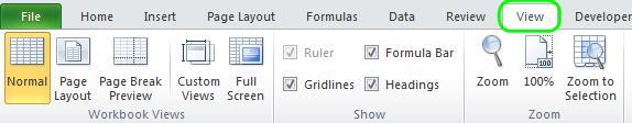 Просмотр книг Excel рядом