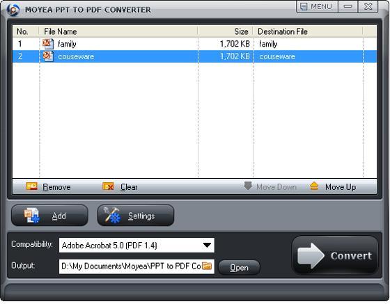 конвертировать PPT в PDF руководство