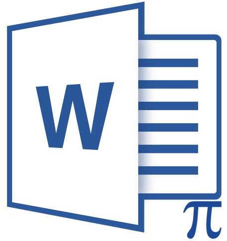 редактор формул в Microsoft Word 2010