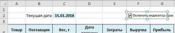 Podsvetka dat 8 Как подсветить сроки и даты в ячейках в Excel?