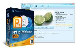 PPT к DVD Burner - преобразования PowerPoint в DVD и PowerPoint в видео