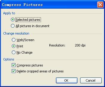 компресс живописных в PowerPoint