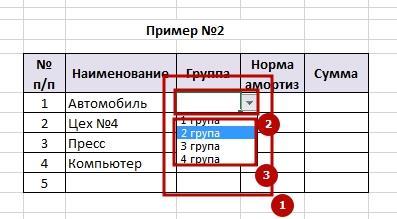 Vipadauchii spisok 5 Как в Excel сделать выпадающий список в ячейке