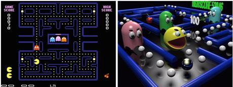 Простой и понятный оригинал, а также красивый, но неудобный 3D вариант игры