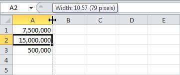 Ошибки в формулах Excel