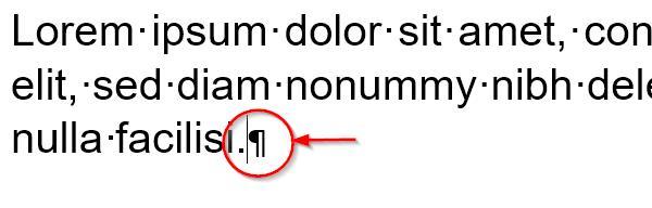 Правильный символ в конце строки позволяет избежать растяжки слов.