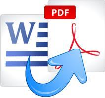 перевести формат word в pdf