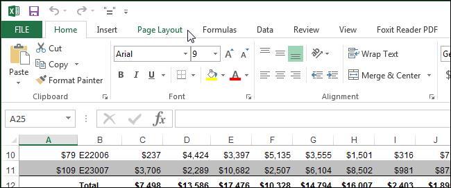 Печатаем сетку и заголовки в Excel