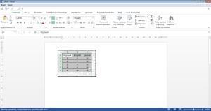 Таблица Excel в Word