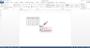 Вставляем таблицу из Excel в Word
