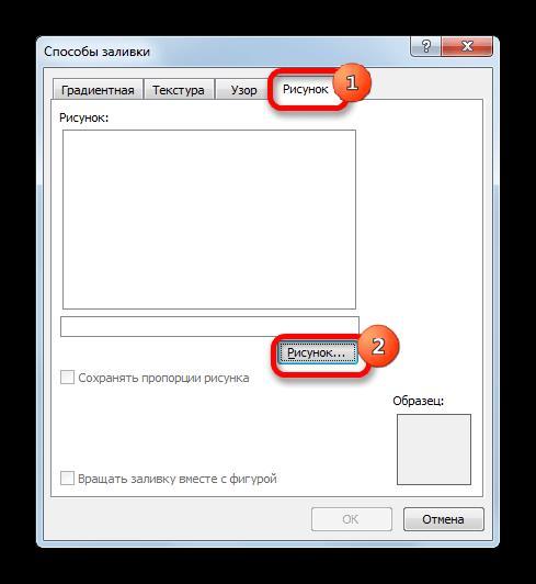 Добавление рисунка в примечание в Microsoft Excel