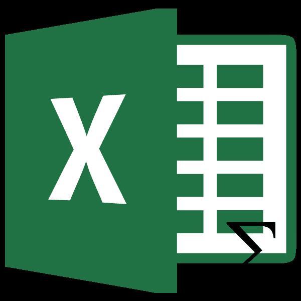 Сумма столбца в Microsoft Excel