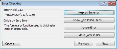 Зависимости формул в Excel