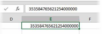 И даже если потом исправить формат на числовой, то лучше не станет