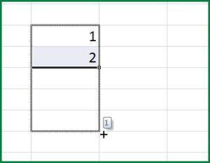 Создание ряда чисел