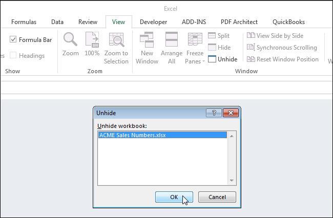 Скрываем листы и книги в Excel
