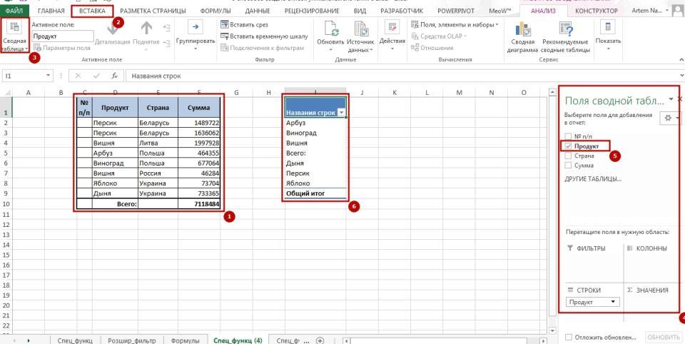 Unikalnie znachenie 8 6 способов создать список уникальных значений в Excel