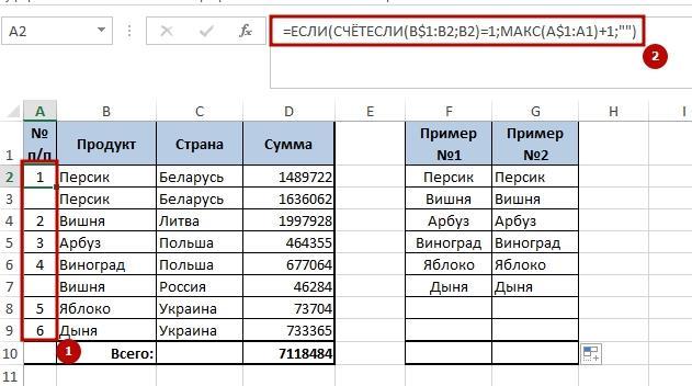 Unikalnie znachenie 5 6 способов создать список уникальных значений в Excel