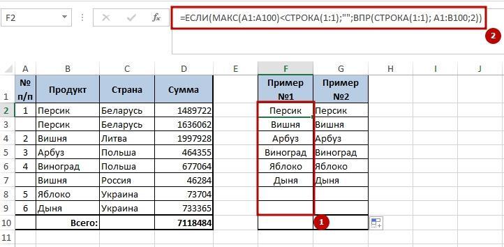 Unikalnie znachenie 6 6 способов создать список уникальных значений в Excel