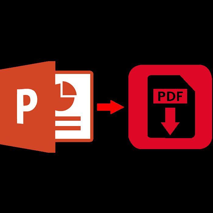 Конвертация из PPT в PDF