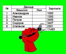 таблицы в word 2007