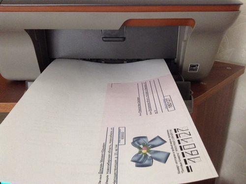 Инструкция как напечатать адрес на конверте на принтере