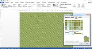 Различные узоры для заливки страницы в ВОрде