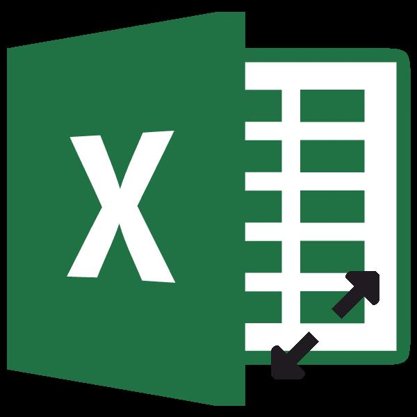 Изменение размера ячейки в программе Microsoft Excel